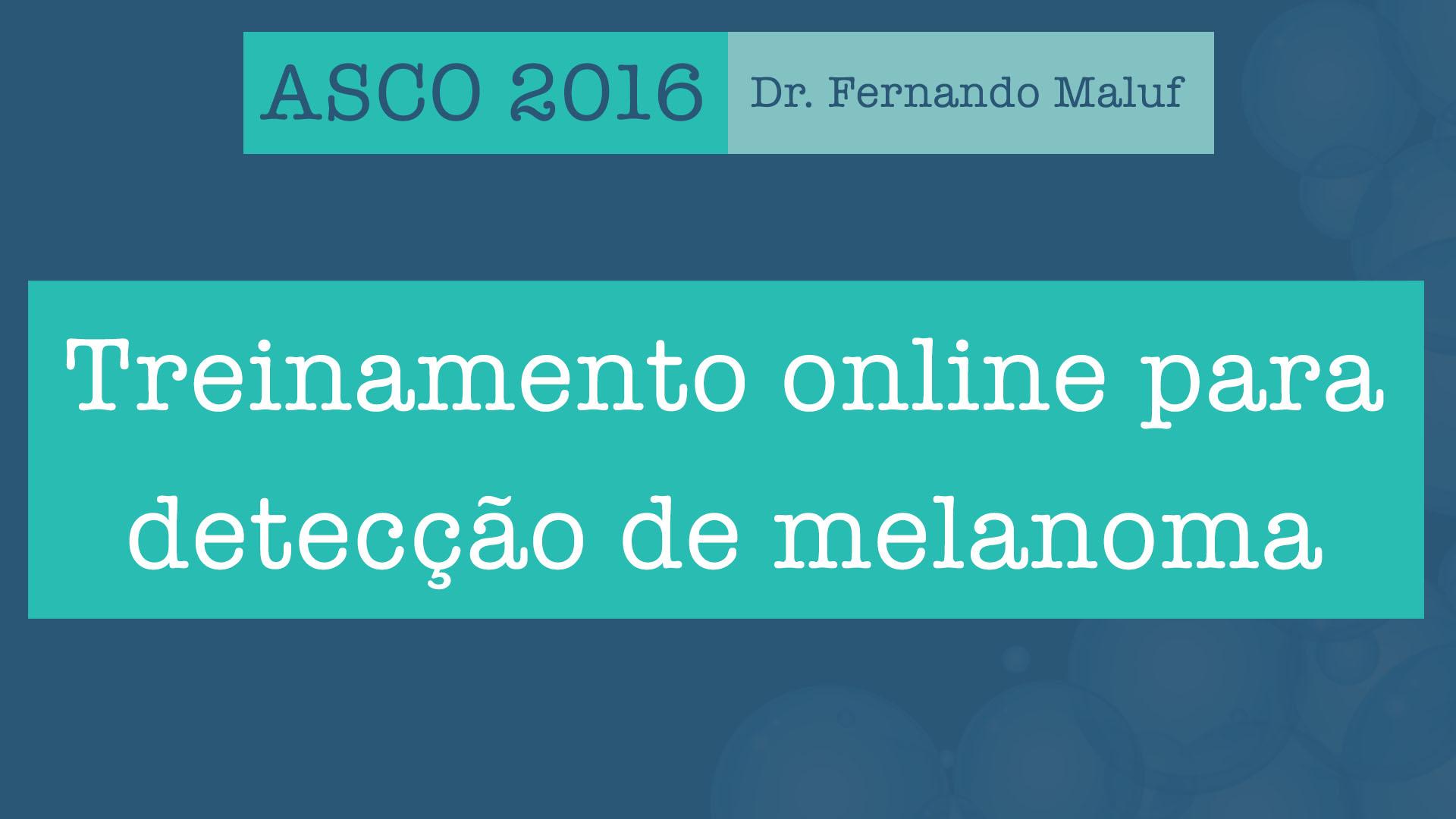 detecção online melanoma