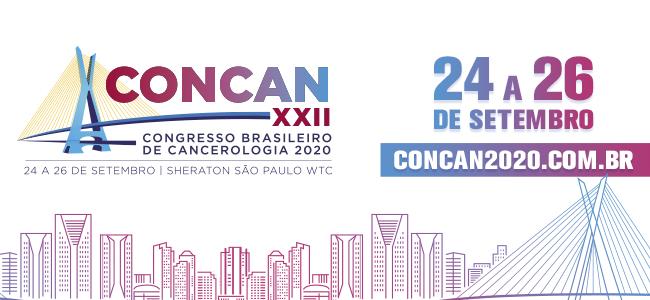 CONCAN XXII Congresso Brasileiro de Cancerologia 2020