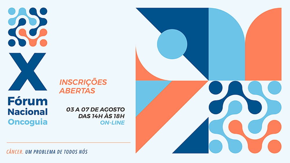 X Fórum Nacional Oncoguia Online