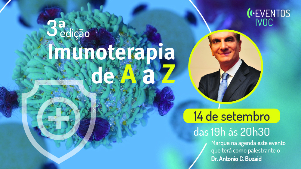 3ª edição on-line do Evento Imunoterapia de A a Z