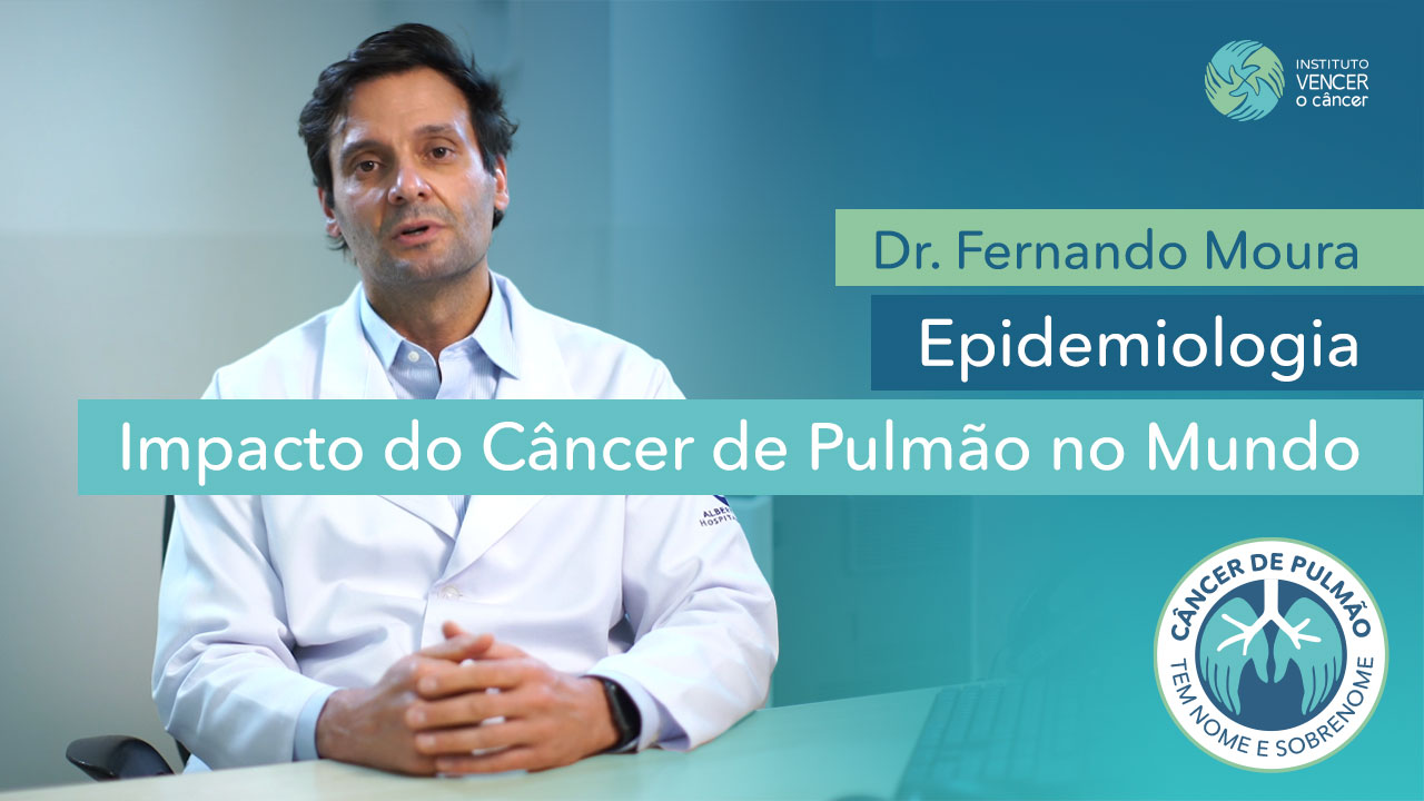 Dr. Fernando Moura - Impacto do Câncer de Pulmão no Mundo