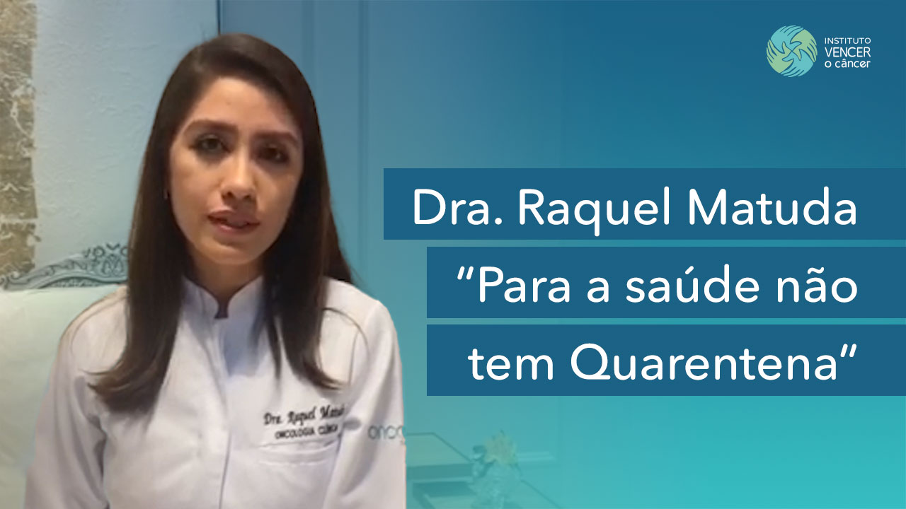 Raquel Matuda - Para a Saúde não tem Quarentena