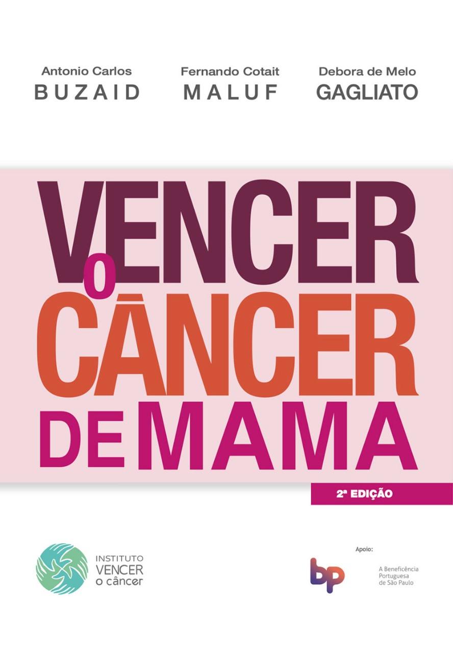 Capa Livro Vencer o Câncer de Mama