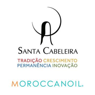 Santa Cabeleira e Moroccanoil