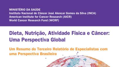 Guia traz análises sobre alimentação, nutrição, atividade física e câncer