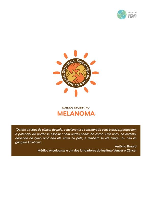 Cartilha Câncer Melanoma