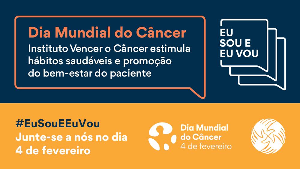 IVOC estimula hábitos saudáveis do paciente no Dia Mundial do Câncer