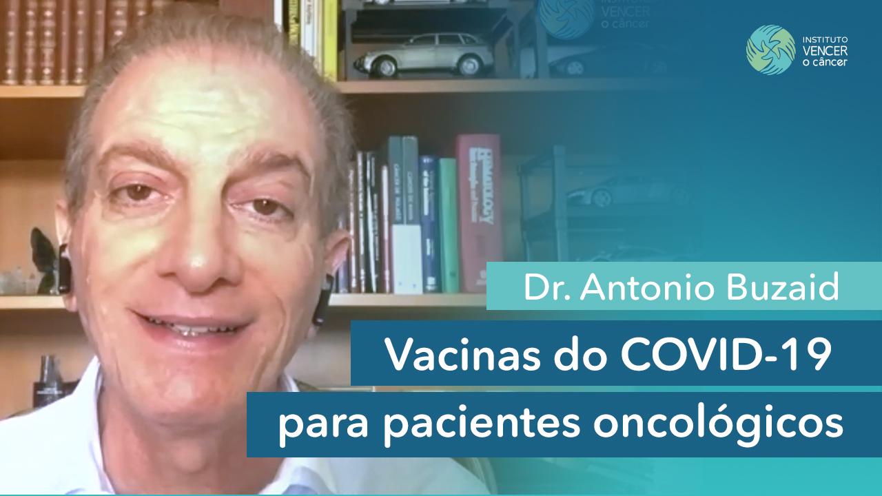 Vacinas do COVID-19 para pacientes oncológicos