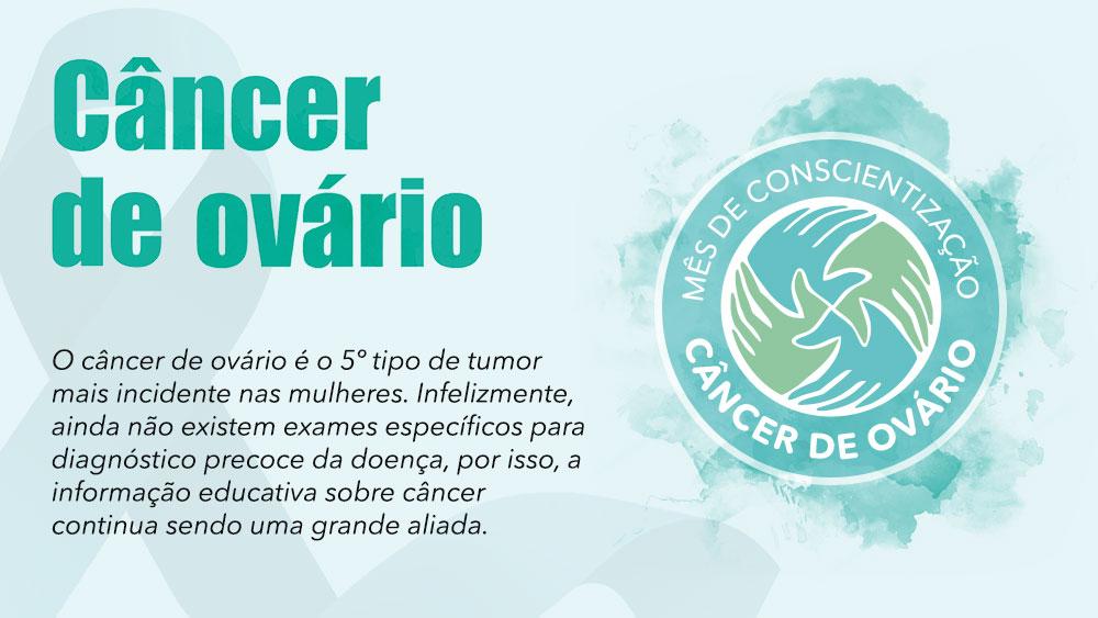 Cartilha educacional sobre Câncer de Ovário